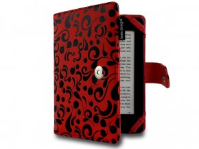 pouzdro obal lente designs red waterflow motyli ctecka 6 amazon kindle paperwhite2 voyage f01