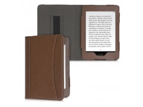 obal pouzdro kw bookstyle hnede amazon kindle paperwhite 4 f2