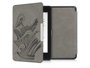 obal pouzdro kw hardcover nubuck vlny amazon kindle paperwhite4 f1