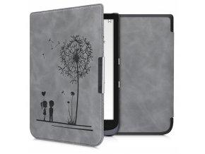 pouzdro obal pocketbook inkpad3 740 nubuck love f1