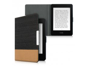 pouzdro obal kw kindle paperwhite 3 dual cerne hnede f01