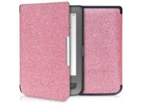 pouzdro kw ruzove trpytky pocketbook touch lux3 1