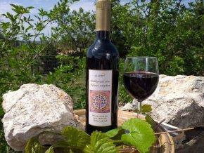 medikované víno 0,75 l