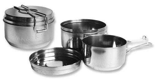 Kempingové nádobí a ešusy