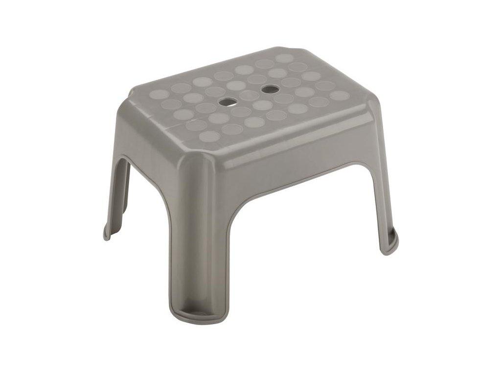 Stolička plast  40x30x 23 cm, mix barev