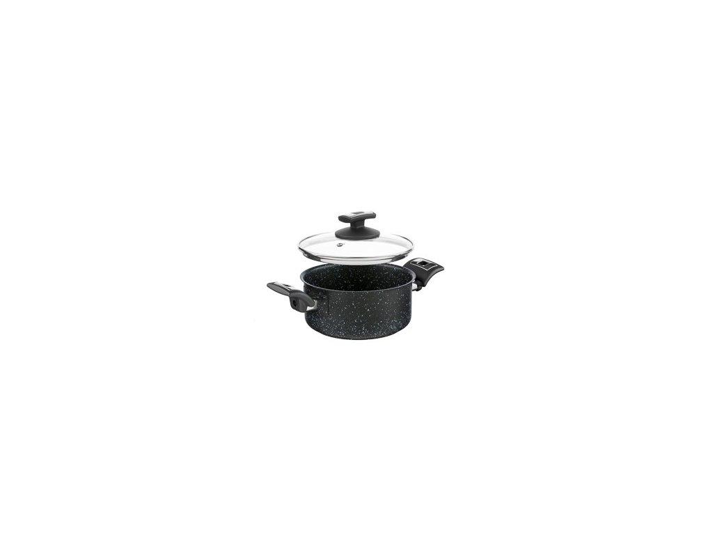 KOLIMAX Rendlík BLACK GRANITEC s poklicí, průměr 18cm, objem 2.0l