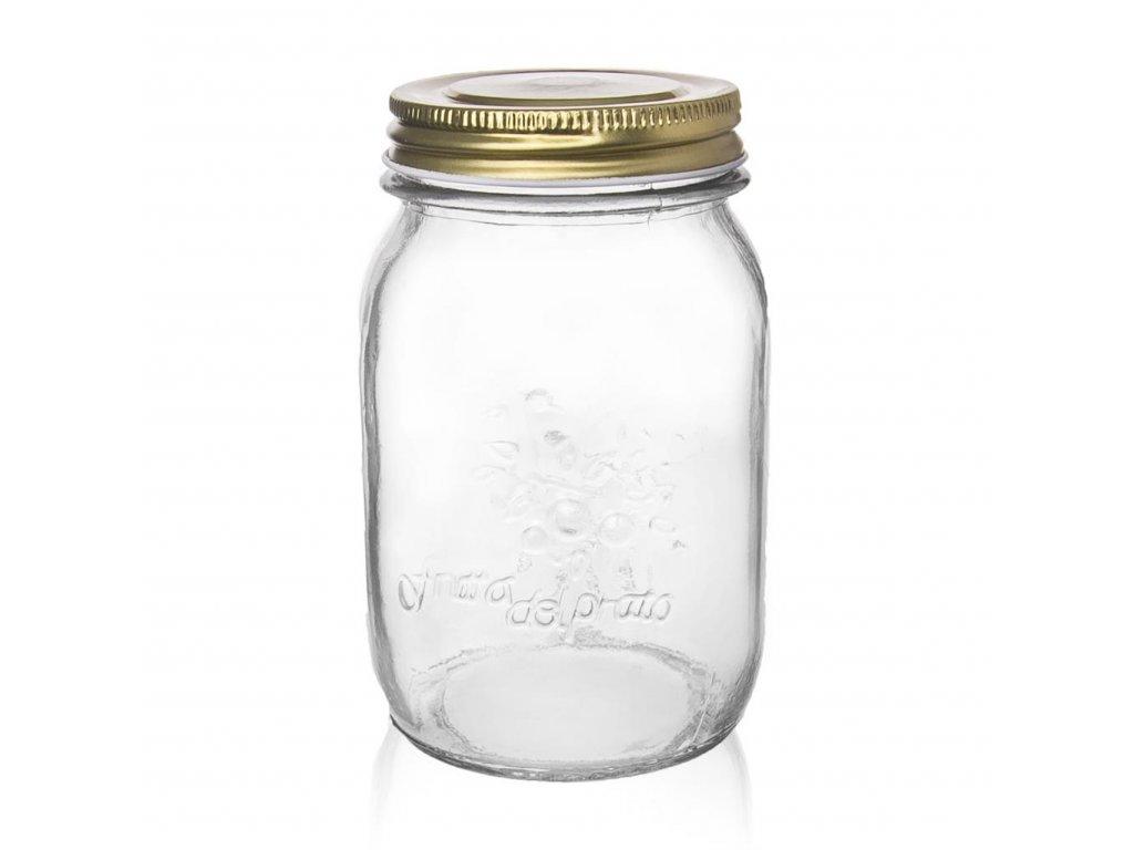 Zavařovací sklenice s víčkem 0,48 l