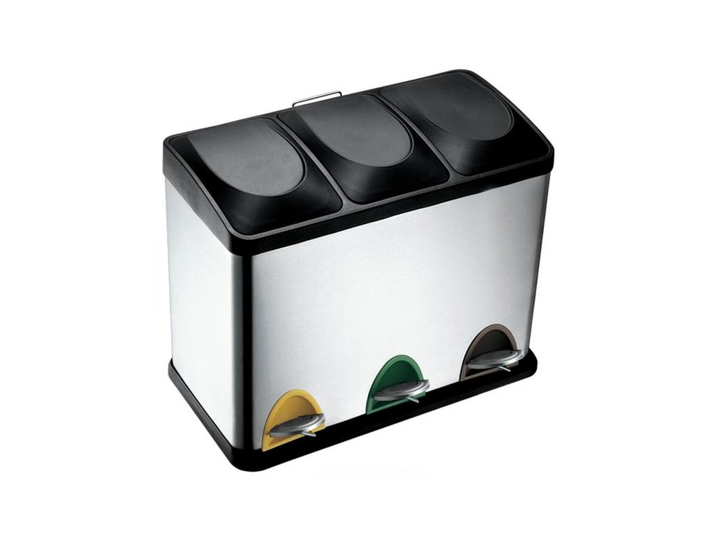Recycle srep bin 3x15l