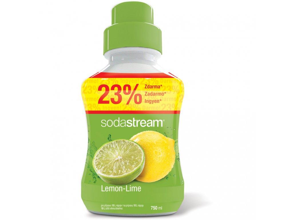 Příchuť Lemon Lime VELKÝ 750ml SODASTREAM