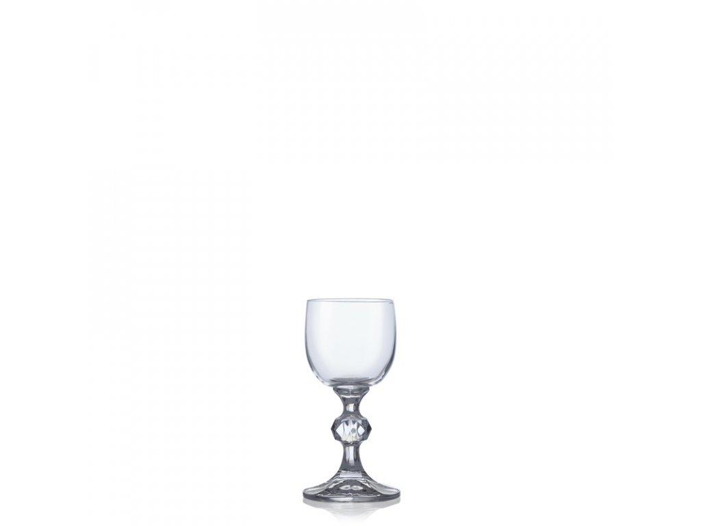 Sklenice na víno CLAUDIA 50 ml, 6 ks, Crystalex