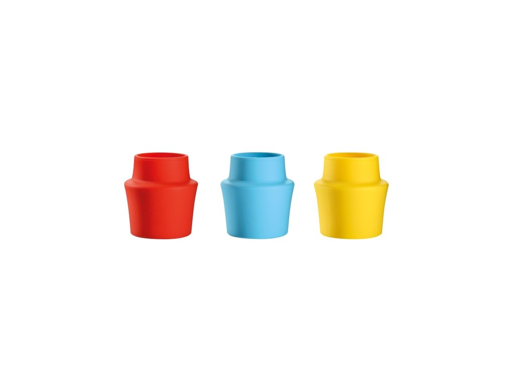 Uzávěr lahví silikonový PRESTO, 3 ks