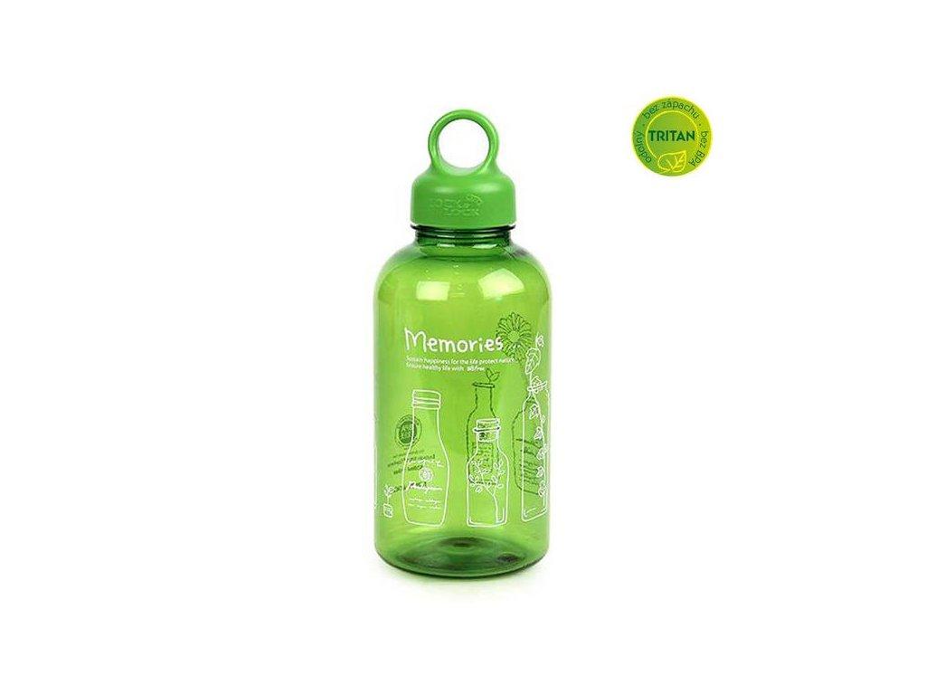 Locklock Color Sport Handy Water Bottle 500ml Blue Hpp727b
