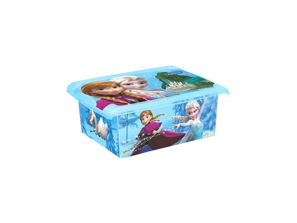 BOX úložný 10l FROZEN - Ledové království