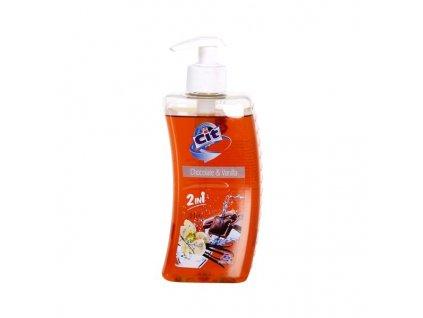 LIQUID SOAP CIT 500ML, CHOCO+VANILLA