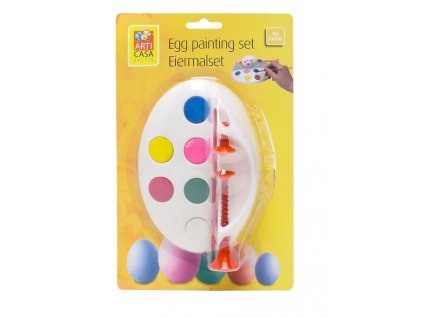 EGG PAINTING SET, 6 COLORS