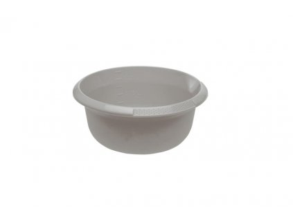 PLASTIC BOWL 1,5L, GREY