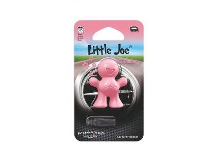 LITTLE JOE CAR AIR FRESHENER JOE STRAWBERRY