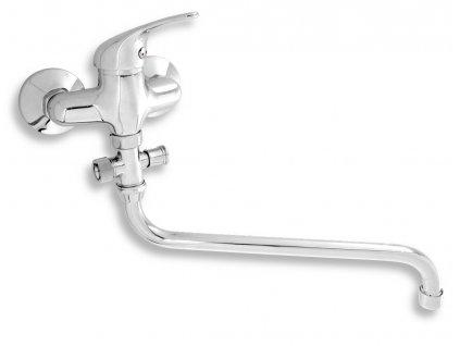 Paneláková baterie bez sprchy 100 mm Titania Iris chrom