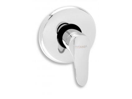 Sprchová baterie podomítková Titania IRIS New chrom
