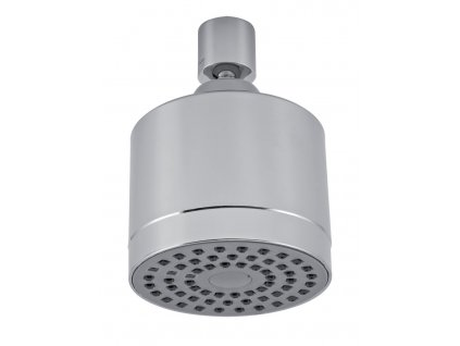 Pevná sprcha samočistící průměr 75 mm chrom