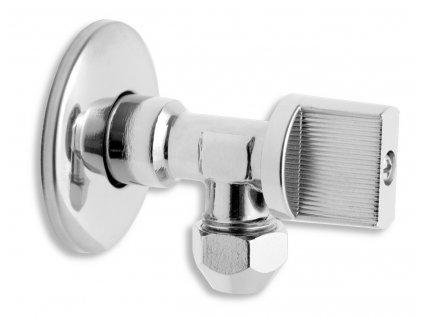 """Rohový ventil bez filtru 1/2""""x 3/8"""" s matkou"""