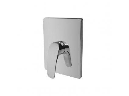 Eve sprchová baterie podomítková bez přepínače, Mbox, hranatý kryt