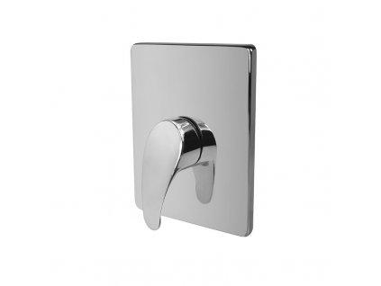 Sonáta sprchová baterie podomítková bez přepínače, Mbox, hranatý kryt