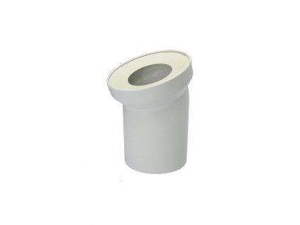 Univerzální odtokové koleno DN 100/D 110, 22°, šikmé