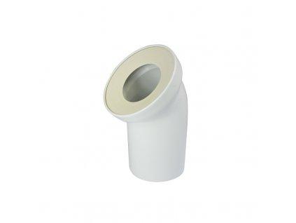 Univerzální odtokové koleno DN 100/D 110, 45°, šikmé