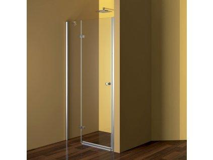 Sprchové dveře, Fantasy, 80x190 cm, chrom ALU, sklo Point, levé provedení