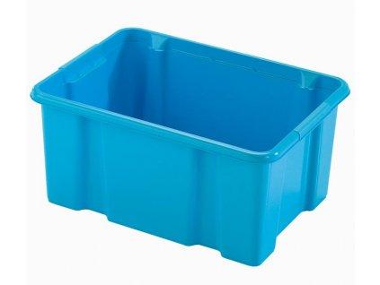 BOX ÚLOŽNÝ 14L, PLAST, 40X29X18CM MIX BAREV