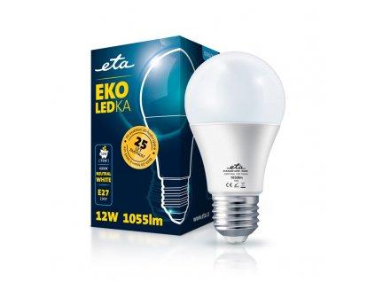 Žárovka LED ETA EKO LEDka klasik 12W, E27, neutrální bílá
