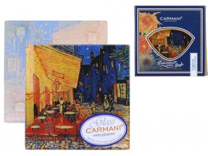 Carmani, Podtácek dekorační - Vincent Van Gogh - Kavárna v noci