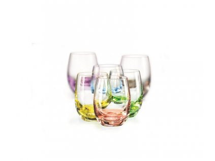 Odlivka Rainbow 60ml 6ks Bohemia Crystal