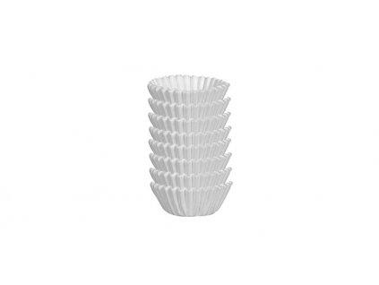 Cukrářské mini košíčky  DELÍCIA pr. 4.0 cm, 200 ks, bílé
