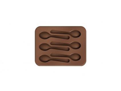 Formičky na čokoládu DELÍCIA CHOCO, lžičky