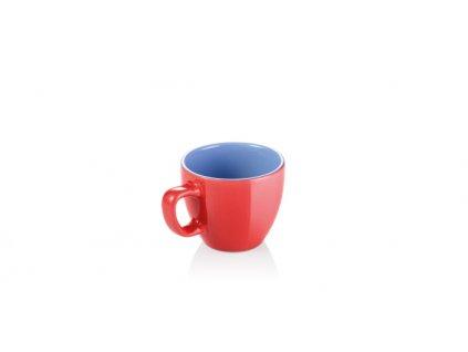 Šálek na espresso CREMA SHINE, červená