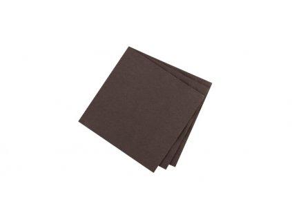 Ubrousky pro stolování FLAIR, čokoládová barva