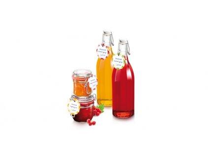 Visačka na sklenice a láhve s klipem TESCOMA DELLA CASA, 24 ks