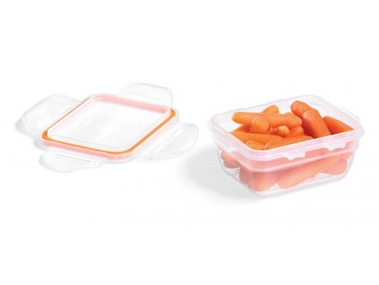 """FOOD CONTAINER """"EASY MATCH"""" 170ML, RECTANGULAR, OR"""