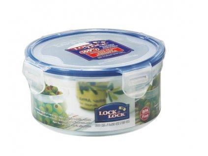Dóza na potraviny Lock - kulatá, 600 ml