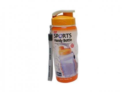 Láhev na pití 500ml, LOCK&LOCK Sport - oranžová