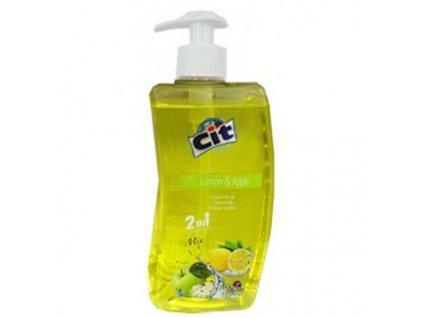 LIQUID SOAP CIT 500ML, LEMON+APPLE