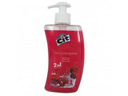 Mýdlo tekuté CIT, 500 ml, Třešeň a Granátové jablko