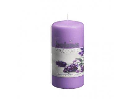 Sc. Pillar Candle 120/60mm lavender