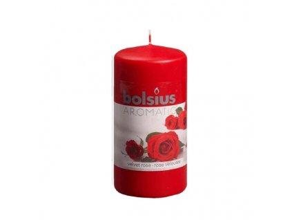 Sc. Pillar Candle 120/60mm rose