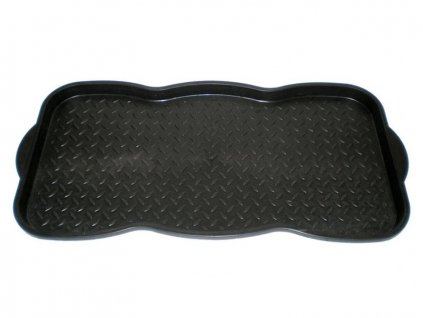 Boot tray, plastic, 73x38cm