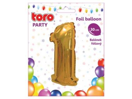 Balónek  číslice 1. /30cm/
