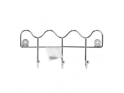Wire chrome wall hanger 21x10c
