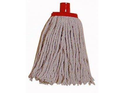 Cotton mop uncut thread